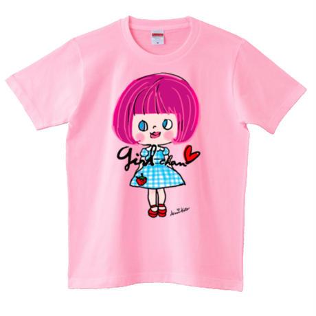 girlちゃんTシャツ(苺のワンピ)