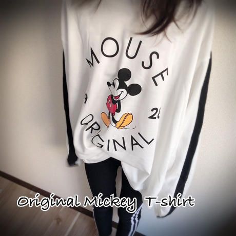 Original Mickey long T-shirt