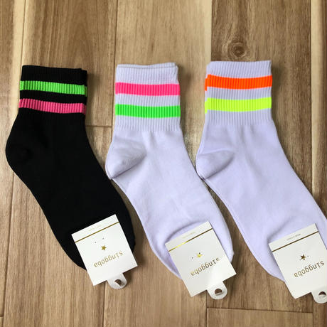 colorful line socks