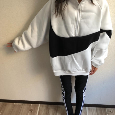 ZIP-UP  SWEAT
