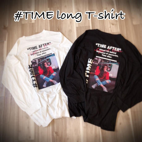 #TIME long  T-shirt