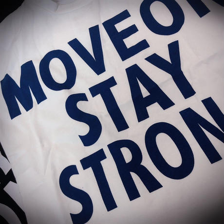MOVE  ON  Tシャツ