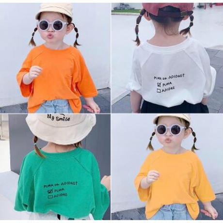 KIDS ビタミンカラーTシャツ
