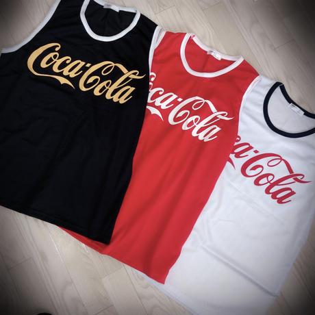 ladies Coca-Cola メッシュタンクトップ