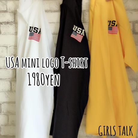 USA  mini logo T-shirt