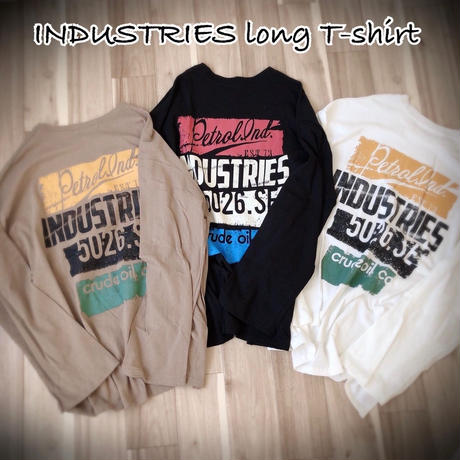 INDUSTRIES long  T-shirt