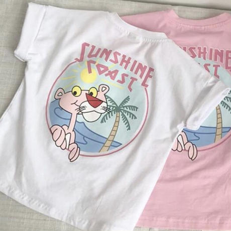 KIDS  PINK  PANTHER  T-shirt