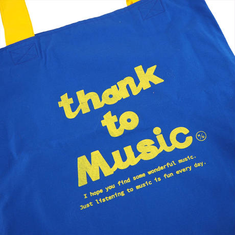 honne thank to Music トート  ブルー (2299991010347)