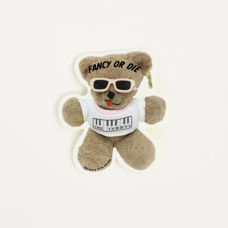 Fancy a la mode THE TEDDYS ステッカーA (全身) (2299990633632)