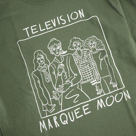 "norahi ""TELEVISION"" ロングスリーブ  Tシャツ"