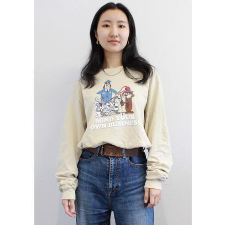 Girlside FABBBIRD ロングTシャツ