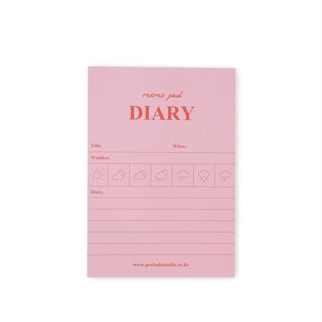 PKP / メモパッド Diary (2299991034416)