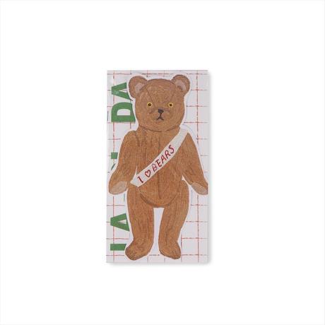 """La-Di-Da Bear """"I Love Bear Zine"""" (2299990650615)"""