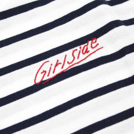 Girlside ボーダーTシャツ