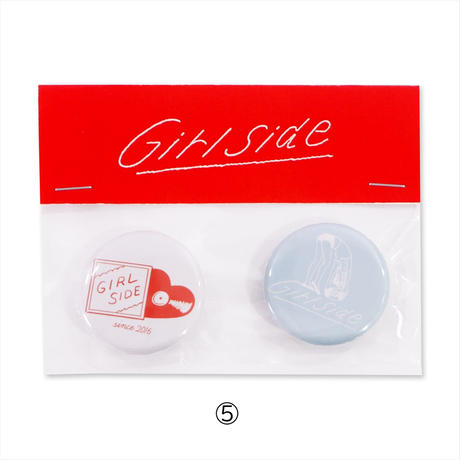 Girlside BADGE 2個セット (2299990554329)