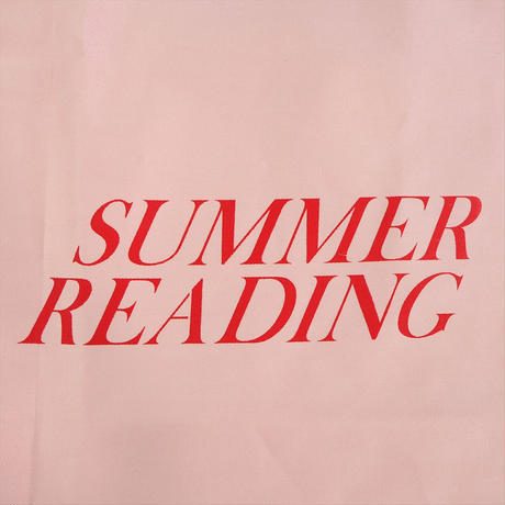 Nine Stories summer reading トート (pink) Girlside限定カラー (2299990999961 )