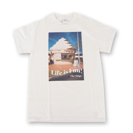 The Skips  Life is Fun Tシャツ