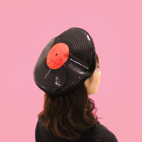 Chapon vinyl ベレー帽