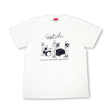 Girlside エヒラナナエ Tシャツ
