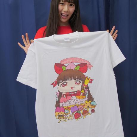 宮内桃子 生誕祭記念Tシャツ(白)Lサイズ