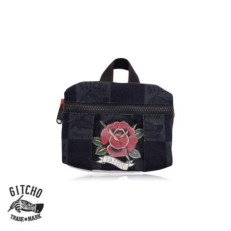 Original Pouch-Rose Print