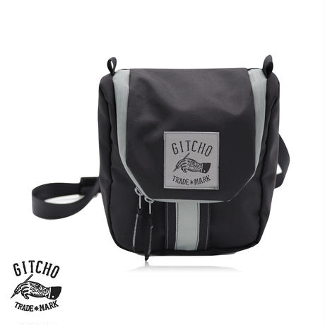 Mini Hexagon waist pack-Shadow Black