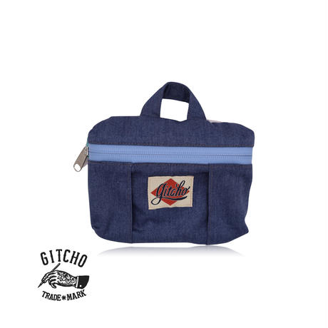 Original Pouch-BL denim