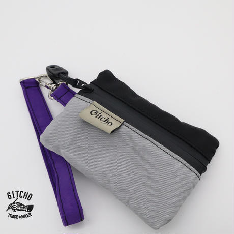 Pocket tissue case-Silver/BK