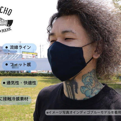 3D布マスク(ポケット付き)リバーシブルメッシュ7カラー展開