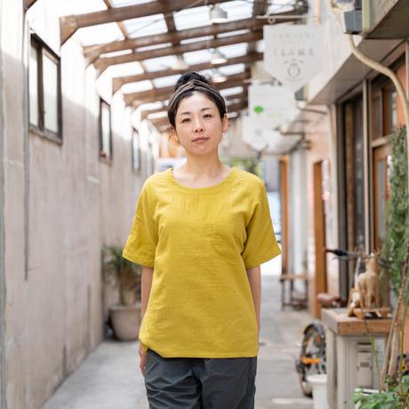 アトリエセッセ / 街と山のTシャツ メンズサイズ