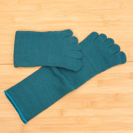 Gluck und Gute グリュックントグーテ / 五本指「足の肌着」絹と綿