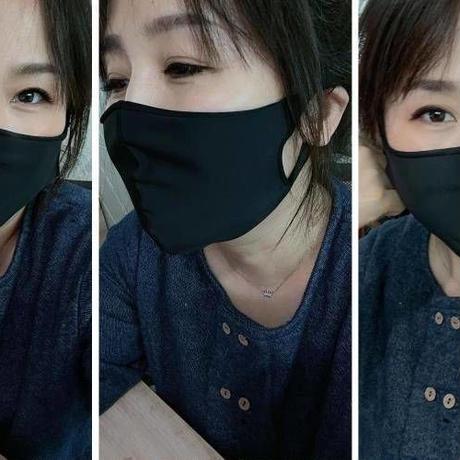 水着素材のマスク