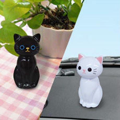 可愛い猫(=^・^=)のマスコットコロン☆シロネコ☆★クロネコ★☆問屋直送品です。