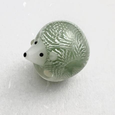 #1 とんぼ玉 ハリネズミ