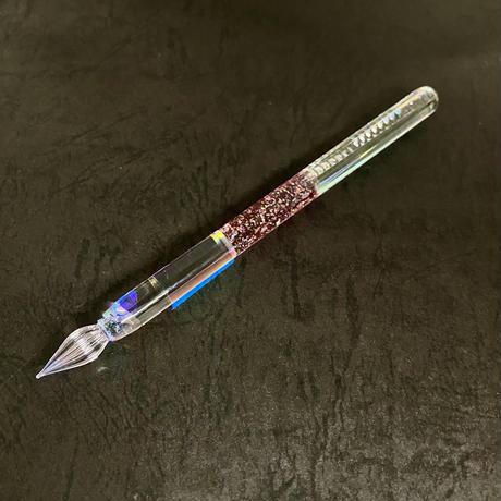 リフレクションガラスペン 流水オパールA-1