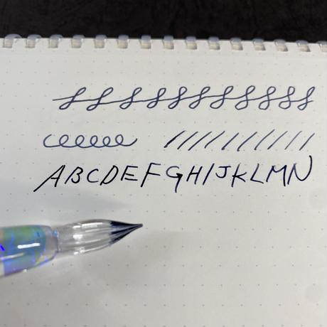 リフレクションガラスペン 流水オパールA-2