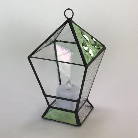 ランタン型テラリウム(グリーン)