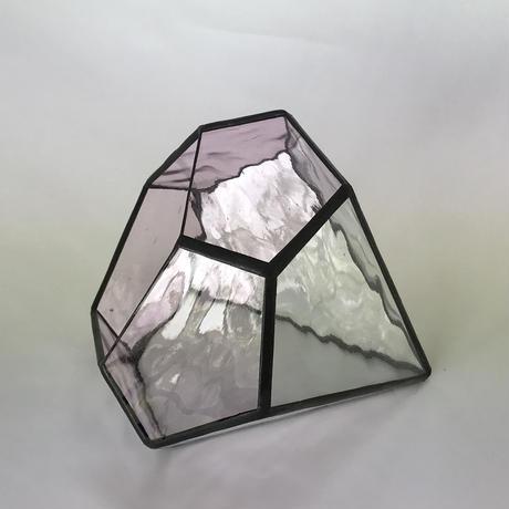 ダイヤ型テラリウム(Sベビーピンク)