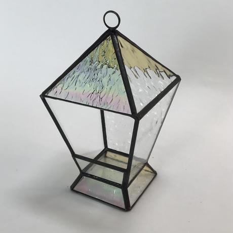 ランタン型テラリウム(アンバー)