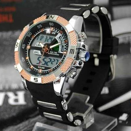 最新アナログ&デジタルスポーツウォッチ 腕時計