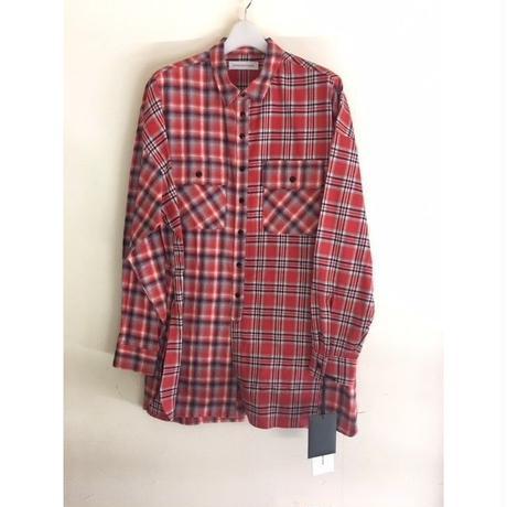 DIETBUTCHER SLIM SKIN/dimension check shirt