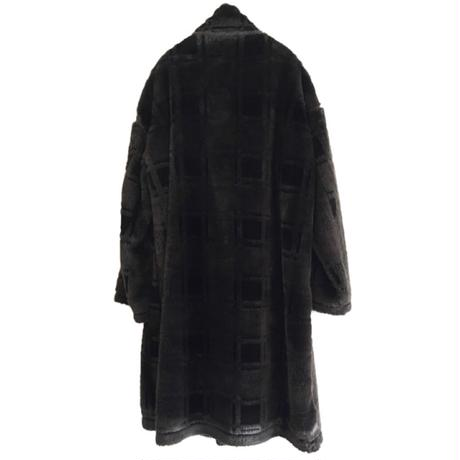DIET BUTCHER SLIM SKIN / 3D fur Over sized coat