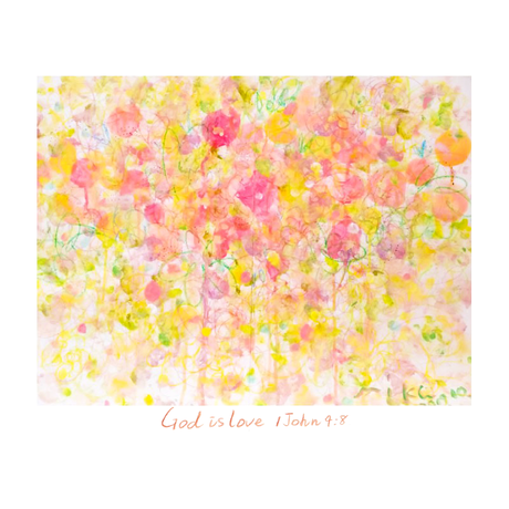 Miku キッズ  Tee -God is Love