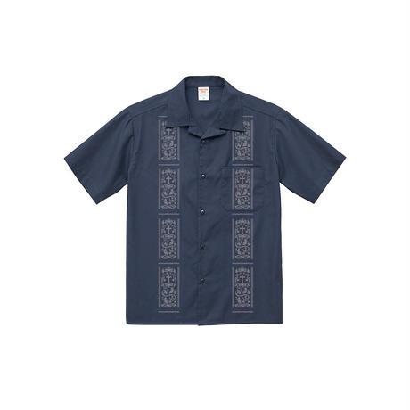 Vine-Openshirts Navy×Gray