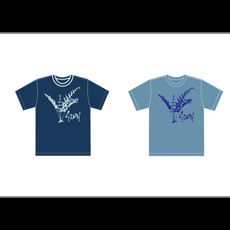 井上慎二郎オフィシャルグッズ【4260H】亜熱帯カーニバルT-shirt