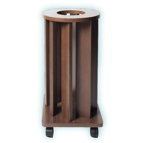 [お問い合わせ商品]炭酸ミストボンベ専用 木製スタンドカバー (キャスター付) ナチュラル/ダーク
