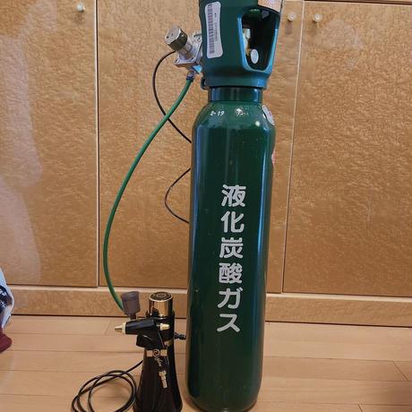 業務用炭酸ガス 5kg【送料込み】※スタンドは別売りになります
