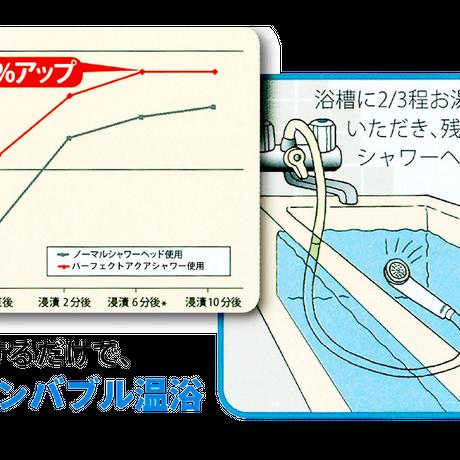 <シャワーだけで落ちる・潤う・温まる>パーフェクトアクアシャワー