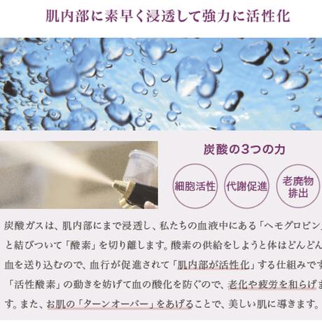 【アウトレット】炭酸ミスト機専用 炭酸ガスカートリッジ/74g×5本※クーポンご利用不可