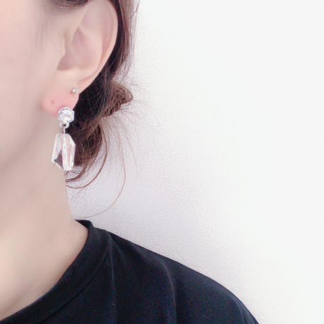 【Studs clear】ピアス&イヤリング